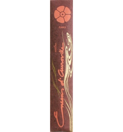 Auroville stick incense Amber