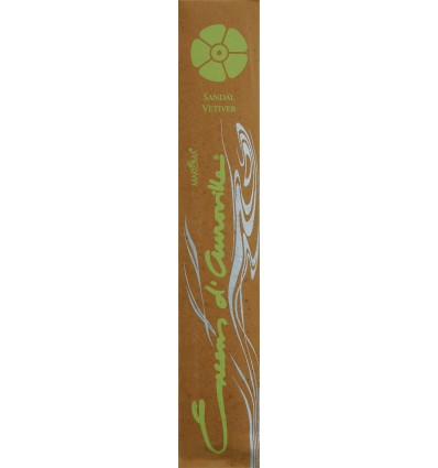 Auroville stick incense Sandal Vetiver
