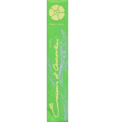 Auroville stick incense Green Apple