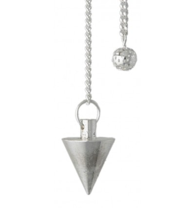 Pendule Triangle - Chrome