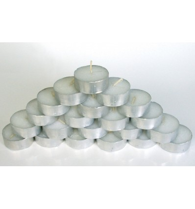 Tealight candles (pack of 50) - 4 hours