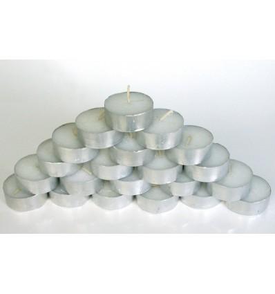 Bougies chauffe-plat (sachet de 50) - 4 heures