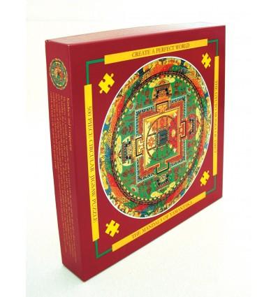 Puzzle Mandala de Yamantaka