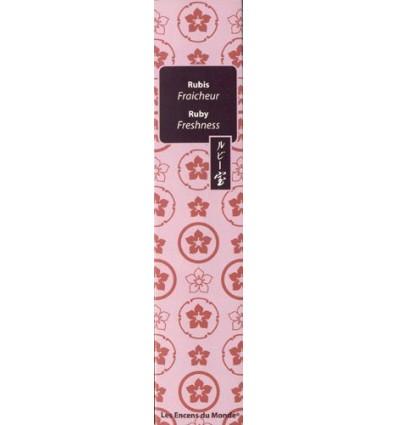 Incense smokeless Ruby