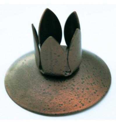 Copper candlestick holder (mini size)