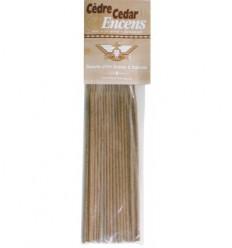 Amerindian cedar incense