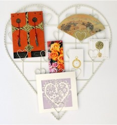 Heart Wall Hanger for Cards
