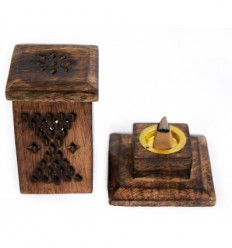 Incense holder for cones