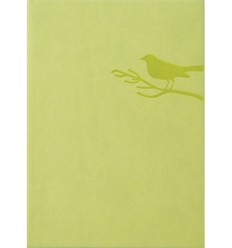 Lime green notebook
