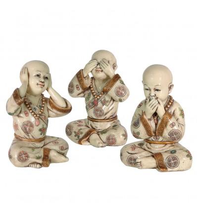 Les trois moines - Statuettes