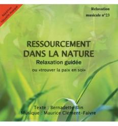 Ressourcement dans la nature