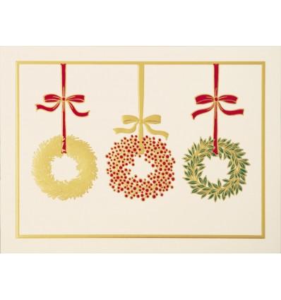 Les trois couronnes de Noël
