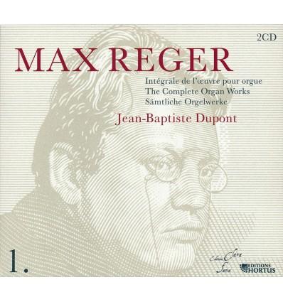 Max Reger - Intégrale de l'oeuvre pour orgue