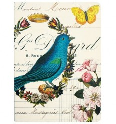 Carnet L'oiseau bleu