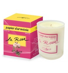 Armenian Paper Rose Candle