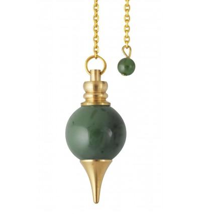 Pendule Sphéroton - Jade néphrite