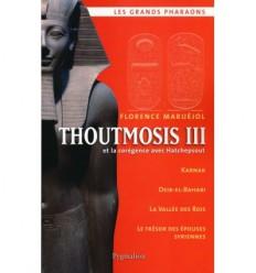 Thoutmosis III et la corégence avec Hatchepsout