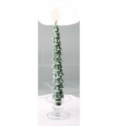 Green Christmas tree Candle