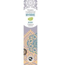 Encens indien à la myrrhe