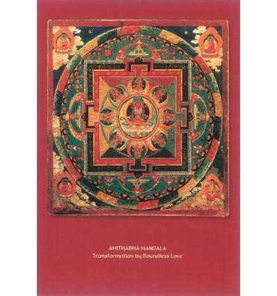 Transformation Through Love Mandala Card
