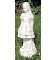 Alice - garden statuette