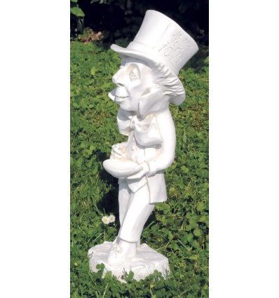 The mad hatter - garden statuette