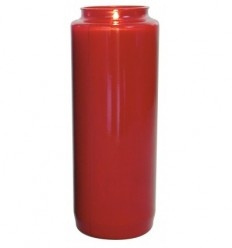 Red 9-day lasting sanctuary candle