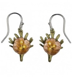 Californian Poppy Earrings