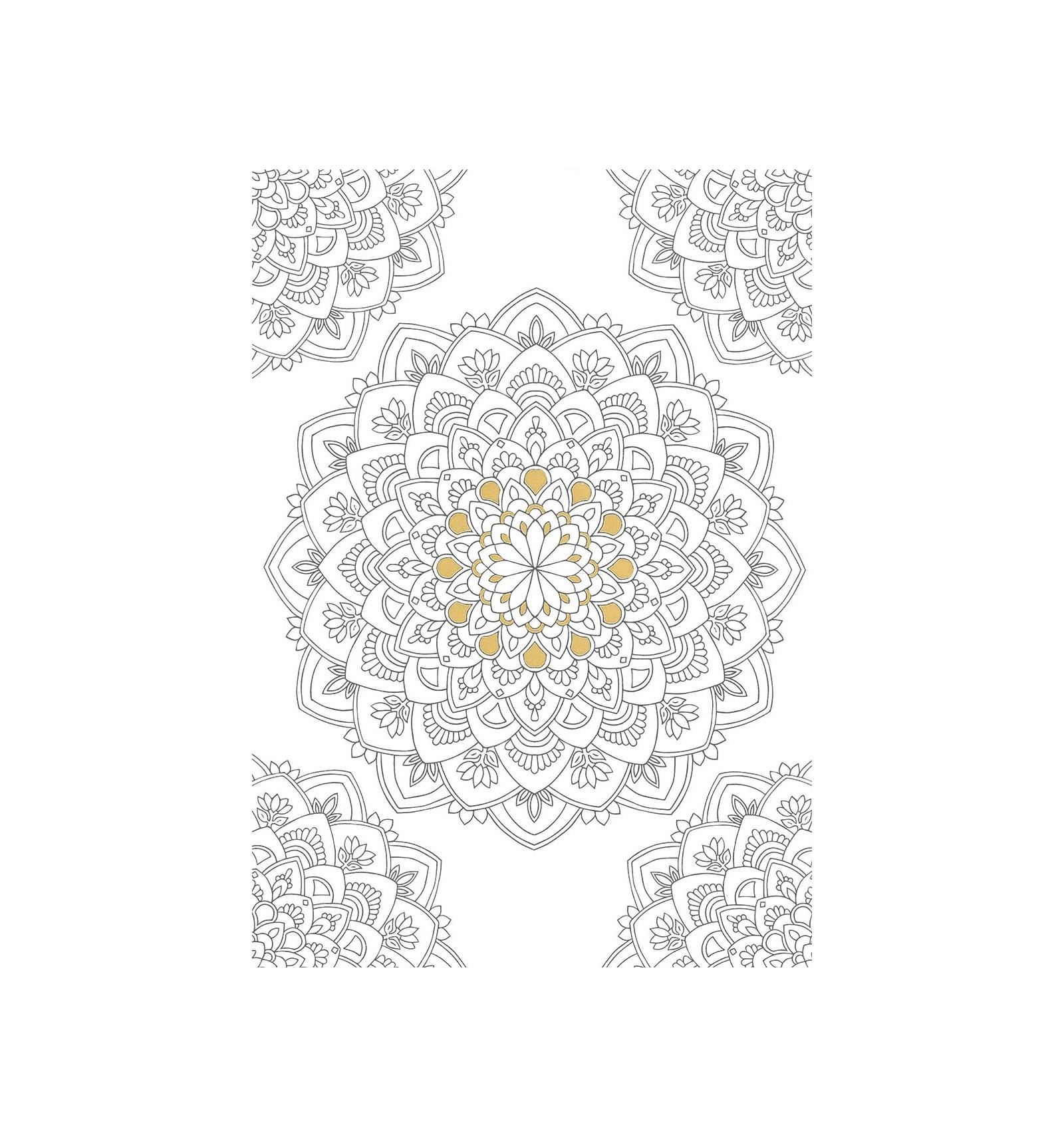 Coloriage Mandala Cp Imprimer.Carte Mandala De La Vertu