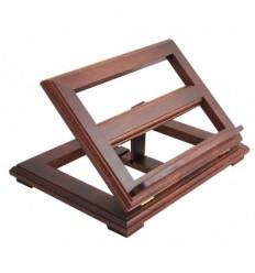 Iroko wood bookstand