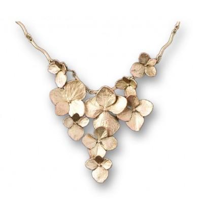 Collier Hydrangea Bronze