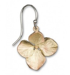 Bronze Hydrangea earrings