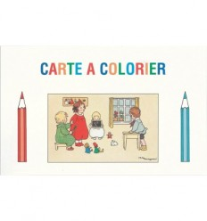 Colouring-in card