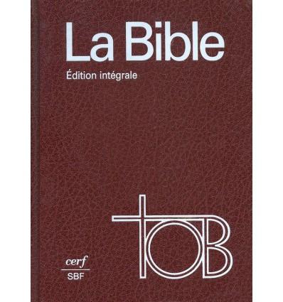 La Bible - Traduction Œcuménique - Relié