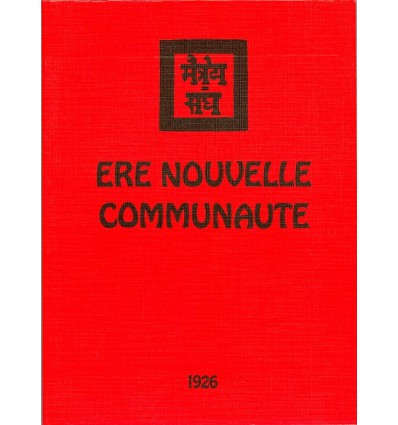 Ere nouvelle 1926 – Communauté