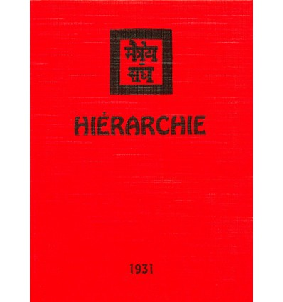 Hiérarchie 1931