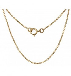 Gold plated chain - 60 cm