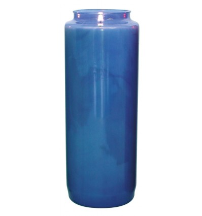 Blue 9-day lasting sanctuary candle