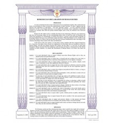 Rosicrucian declaration of human duties