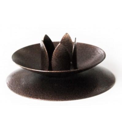Copper candlestick holder