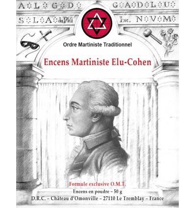 Martinist Elu-Cohen incense L.C. de Saint-Martin