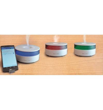 Ultrasound essential oils diffuser with bluetooth function