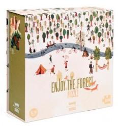 """Puzzle """"Enjoy the forest"""" (Profitez de la forêt)"""