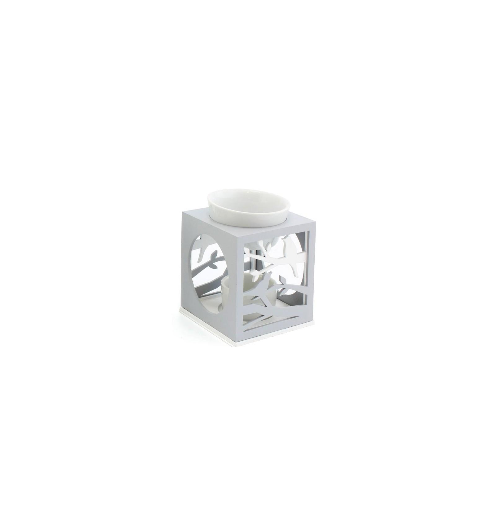diffuseur d 39 huiles essentielles avec bougie chauffe plat. Black Bedroom Furniture Sets. Home Design Ideas