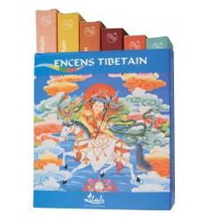 Boîte cadeau d'encens tibétains