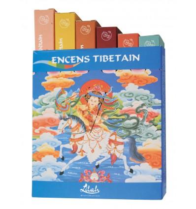 Gift box of six tibetan incenses