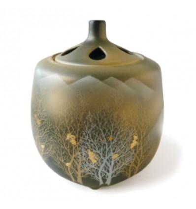 Brûle-parfum japonais en céramique Kutani