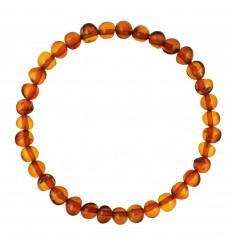 Bracelet en perles d'ambre
