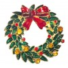 "Advent wreath"" brooch"