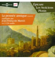 EPICURE LES STOICIENS PLOTIN 3 CD